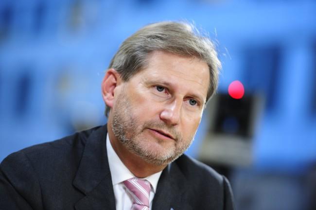 Johannes Hahn, az Osztrák Néppárt jelöltje (Forrás: euobserver.com)
