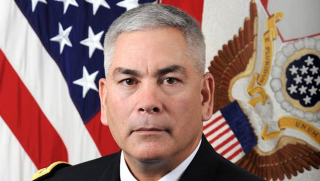 John F. Campbell tábornok, az ISAF-erők új parancsnoka. (Fotó: nato.int)