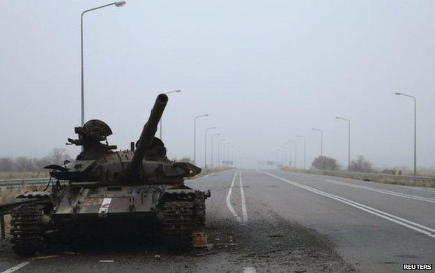 Mintegy 1000 áldozata van az ukrajnai harcoknak a tűzszünet megkötése óta (Forrás:BBC)