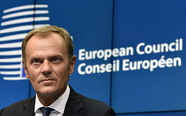 Donald Tusk (Forrás: telegraph.co.uk)
