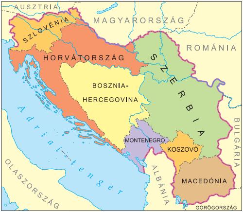 """jugoszlávia térkép Konferencia sorozatunk utolsó állomása: """"Változó Nyugat Balkán  jugoszlávia térkép"""