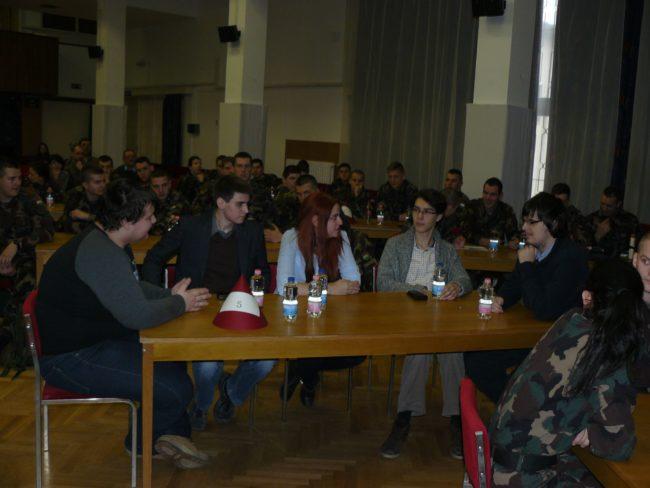 A Team BSZK tagjai: Sánta György, Petróczki Márk, Kovács Georgina, Ilosvai Dániel, Vincze Patrik.